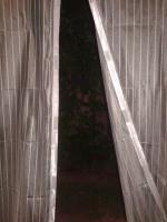 Сетка на магнитах москитная на дверь 1м*2,2м Белая