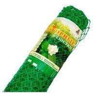 Заборная решетка пластиковая З-35 1,2*25м, 35х35мм (Зеленая)