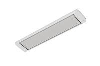 Обогреватель инфракрасный Алмак ИК 11 S (1000 Вт, 11-20 м2, 1330х160х30 мм, 3.3 кг) серебро