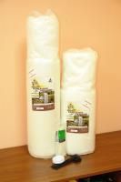 Каркасное укрытие для растений КУ-7 1*10м (Белый)