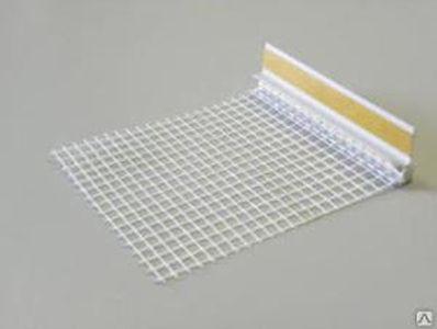 Профиль примыкающий с армирующей сеткой 6мм 2,4м