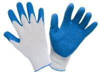 Перчатки Х/Б с латексным покрытием 10шт/упак