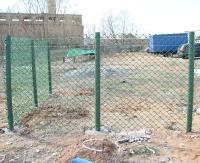 Заборный столб пластиковый 1,5м с заглушкой диаметр 40мм 2шт/уп (Хаки)