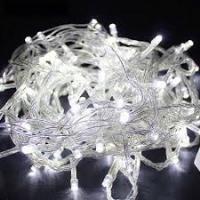 Светодиодные гирлянды НИТЬ прозрачный PVC провод,с защитным колпачком, IP54, 230В BS100-10-220-W-T20