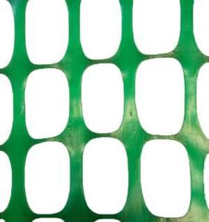Аварийное ограждение сетка барьер 1,8х50м (150г) ЗЕЛЕНАЯ