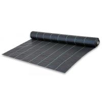 Агроткань застилочная 2,5х10м плотность 100г/м2 черная