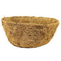 Кокосовое волокно в полусферах D30см. (вкладыш для подв. корзин)