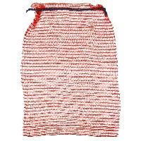Сетка-мешок 50*80см с завязками красный 100шт/уп