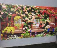 Фотосетка для декора забора и фасада РАДА 027-м секция 2,5 метра x 1,58 метра (ПВХ)