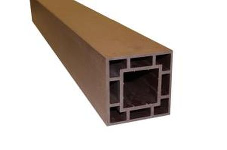 Столб MultiDeck Railing (120х120мм), L=3000мм, (цв.Махагон)