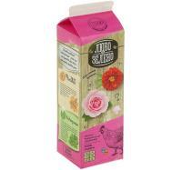 Удобрение Органоминеральное Любо-Зелено Розы и Цветы Pure-Pak 1 л