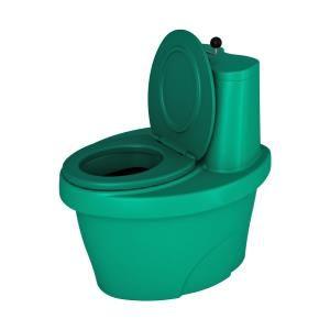 """Туалет торфяной """"Rostok"""" зеленый"""