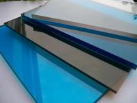 Монолитный поликарбонат WOGGEL 2.05м х 3.05м /Толщина 10мм. ./Уд. вес 11.4 кг./м2