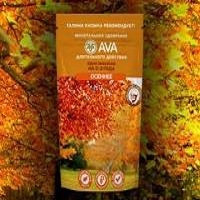 Удобрение AVA Осеннее 400 гр 2-3 года.  дойпак с многоразовым зип-локом