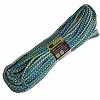 Шнур витой 20м (сине-зеленый) полипропилен (6мм)