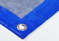 Тент Тарпаулин 2х3м плотность 80г/м.кв (синий)