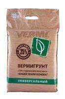 Вермигрунт универсальный, 10л. питательная почвосмесь
