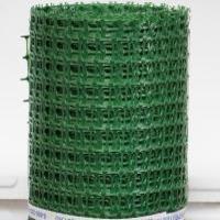 Заборная решетка пластиковая ЗР-15 20*20 1.5*20м (лесной зеленый)