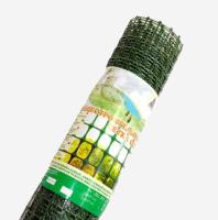 Заборная решетка пластиковая ЗР-45 45*45 1.5*20м (хаки)