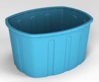 Ванна 400 л. синий