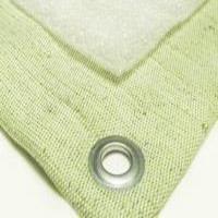 Полог брезент 4х20 550гр/м2  утепленный (изолон 5 мм)