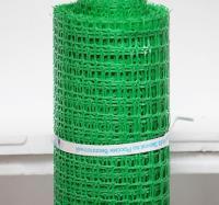 Заборная решетка пластиковая ЗР-15 20х20 1х10м (зеленый)