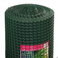 Заборная решетка пластиковая ЗР-15 20х20 1х10м (хаки)