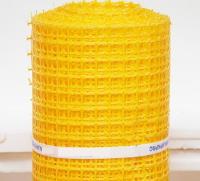 Заборная решетка пластиковая ЗР-15 20х20 1х10м (желтый)