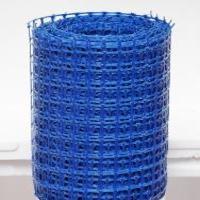 Заборная решетка пластиковая ЗР-15 20х20 1х10м (синий)