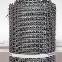 Заборная решетка пластиковая ЗР-15 20х20 1х10м (серый)