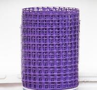 Заборная решетка пластиковая ЗР-15 20х20 1х10м (сиреневый)