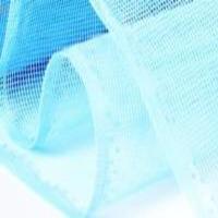 Полиэфирная сетка от комаров  0.75х50м (Голубая1х1мм)
