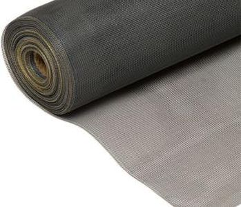 Стекловолоконная москитная сетка 1.6х30м для пластиковых окон 140г/м² (Серая)