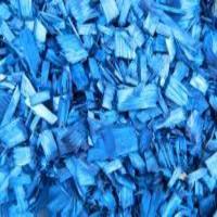 Щепа декоративная, синяя, 60л., мешок
