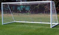 Сетка для футбольных ворот 3х9,5 м (нить 2,2мм) Зеленая (пара)