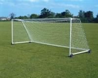 Сетка для футбольных ворот 5х2х1х1.5м (нить 2,2мм) Белая (пара)