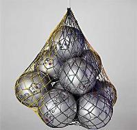 Сетка для переноса (вместительность 20 мячей) Зеленая