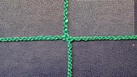 Заградительная сетка . безузловая . зеленая . нить: 2.2мм (за 1кв.м)