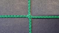 Заградительная сетка . узловая . зеленая . нить: 2.6мм (за 1кв.м)