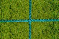 Заградительная сетка . узловая . зеленая . нить: 3мм (за 1кв.м)