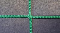 Заградительная сетка . безузловая . зеленая . нить: 2.6мм ячейка 4х4см (за 1кв.м)