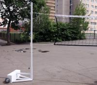 Волейбольные стойки передвижные . до 2.55м (пара)