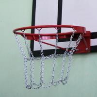 Кольцо баскетбольное антивандальное, с цепью в комплекте 45см