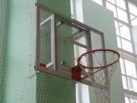 Щит баскетбольный тренировочный из оргстекла 120 х90см