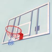 Щит баскетбольный игровой из оргстекла 180 х105см