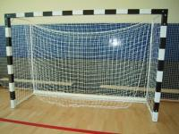 Сетка для мини футбола/гандбола  2,7х7,2 м (нить 2.2мм) Черная (пара)