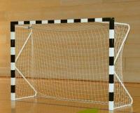 Сетка для мини футбола/гандбола  3х2х1х1,5 м (нить 2.6мм) Белый (пара)