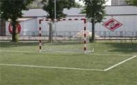 Сетка для мини футбола/гандбола  3х2х1х1,5 м (нить 3мм) Белый (пара)