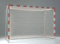 Сетка для мини футбола/гандбола  3х2х1х1 м (нить 5мм) Белая шестигранная (пара)