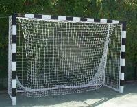 Сетка гашения для мини футбола 2.9х1.9 м (нить 2.2мм) Белая  (пара)